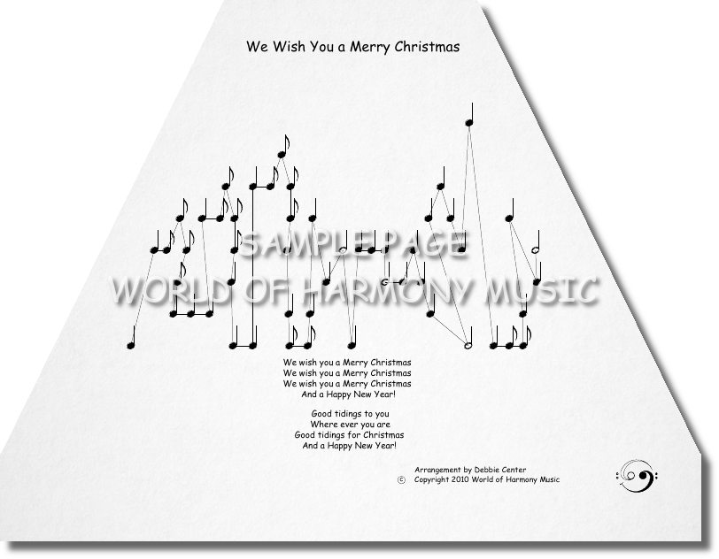 We Wish You a Merry Christmas - World of Harmony Music