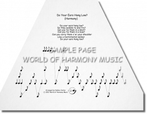 Do Your Ears Hang Low (Harmony)