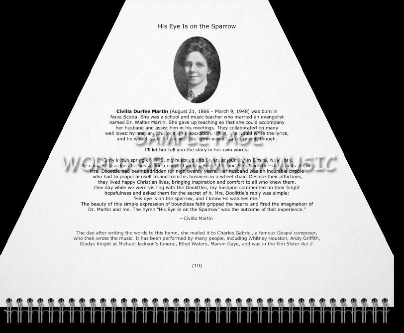 Hymns Book - World of Harmony Music