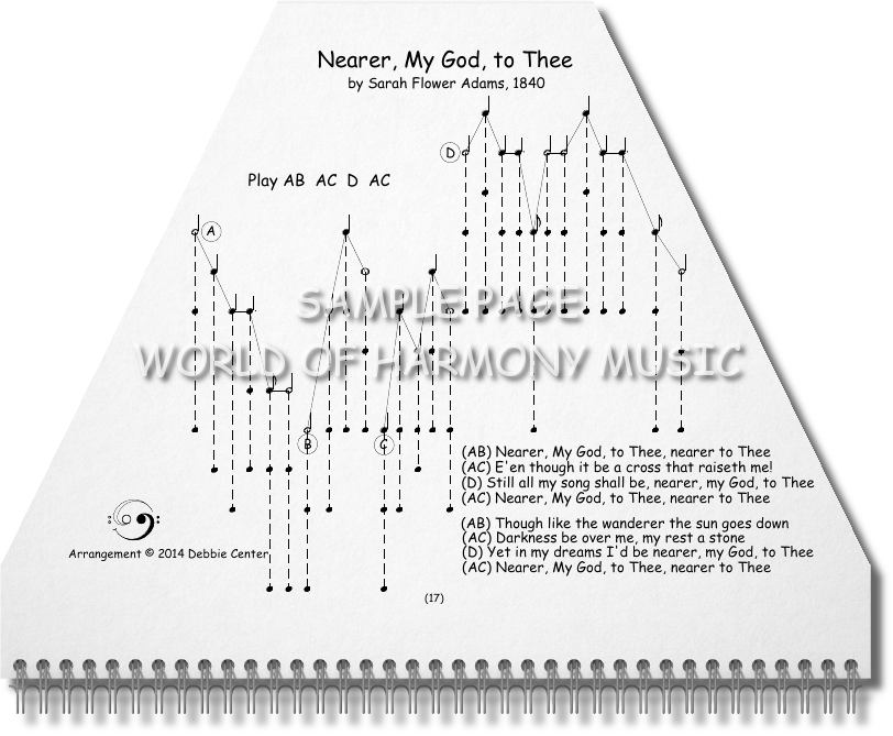 Lyric nearer my god to thee lyrics : Hymns Book - World of Harmony Music