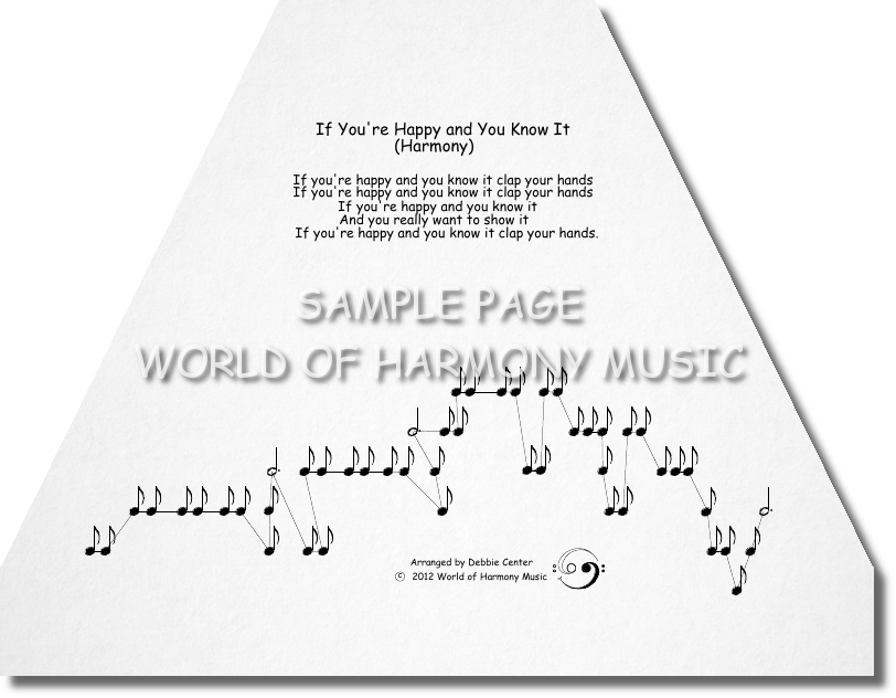 If you 39 re happy and you know it harmony world of for If you re happy and you know it coloring page