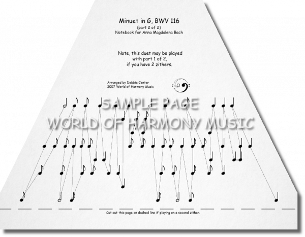 Minuet in G (BWV 116, Part 2 of 2)