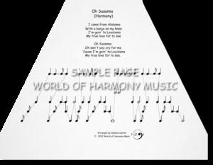 Oh Susanna (Harmony)