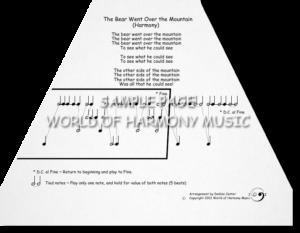The Bear Went Over the Mountain (Harmony)