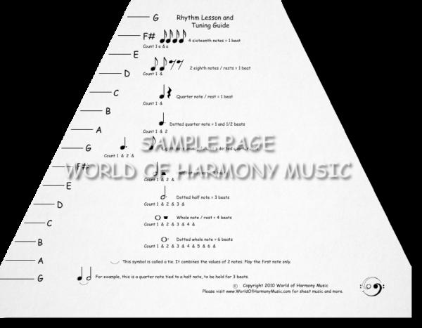 Tuning Rhythm Sheet