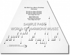 We Wish You a Merry Christmas (Harmony)