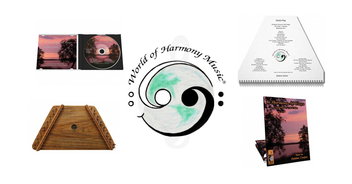 This is a photo of Free Printable Lap Harp Music Cards for parts