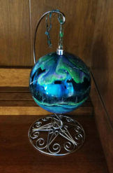 "4"" to 5"" Custom-Painted Nature Ornaments, Painted to Your Preferences"